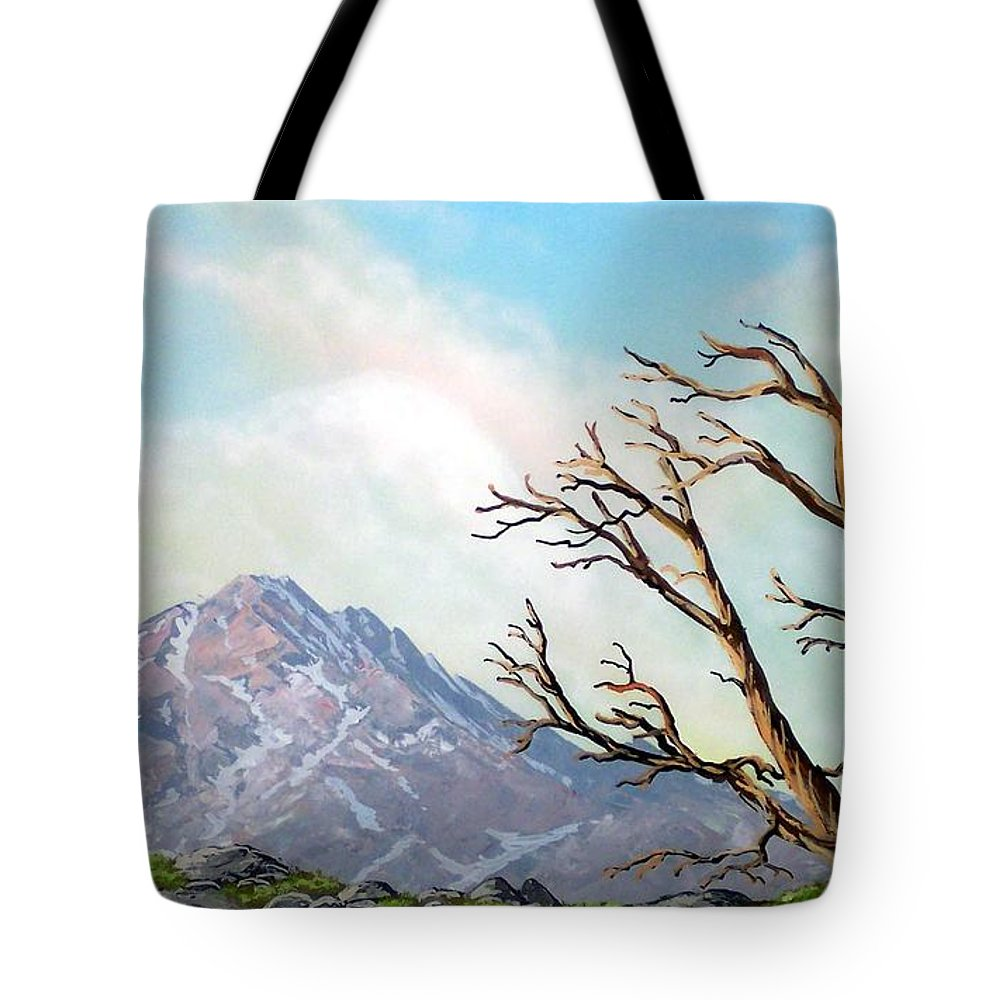 Wildflowers Tote Bag featuring the painting Lost Battle by Frank Wilson
