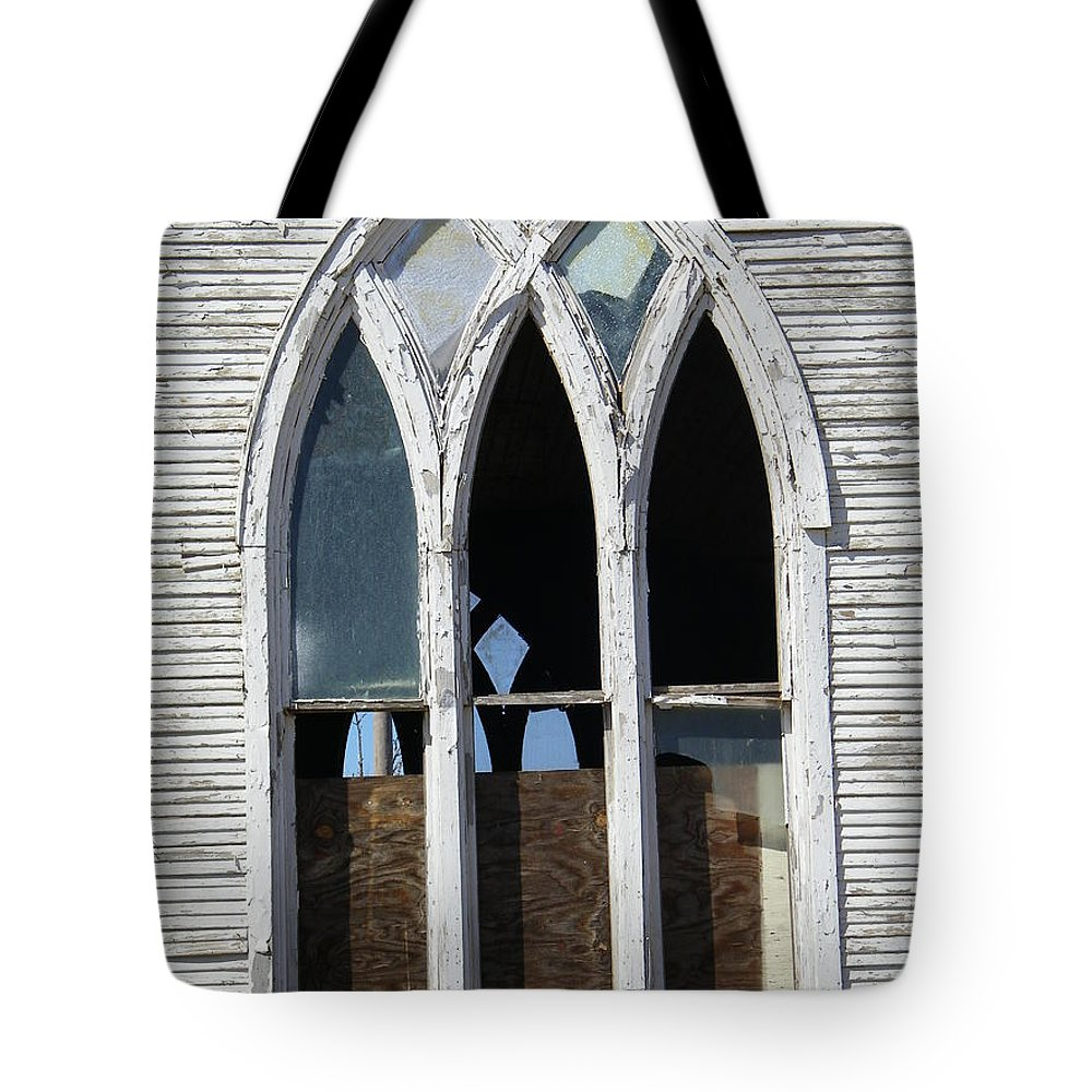 Church Tote Bag featuring the photograph Lost by Gale Cochran-Smith