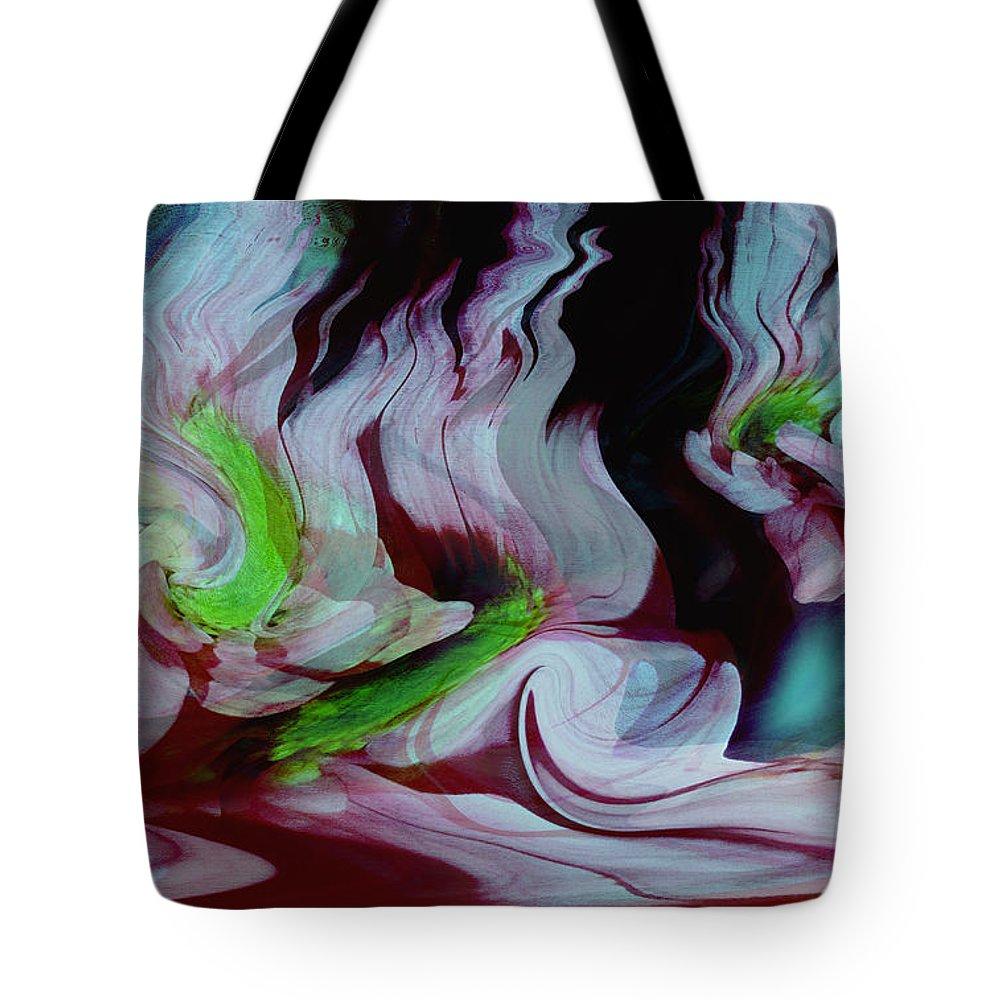 Dream Art Tote Bag featuring the digital art Lost In A Dream by Linda Sannuti