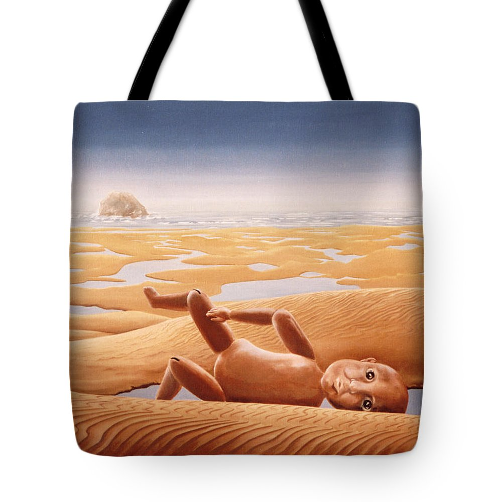 Surreal Tote Bag featuring the painting Lost In A Dream by Mark Cawood