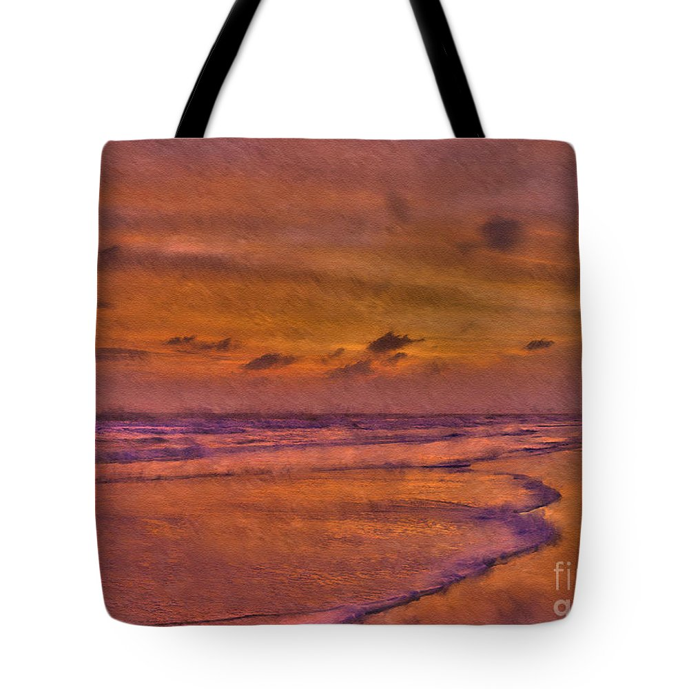 Sunrise Tote Bag featuring the photograph Lost In Love by Jeff Breiman