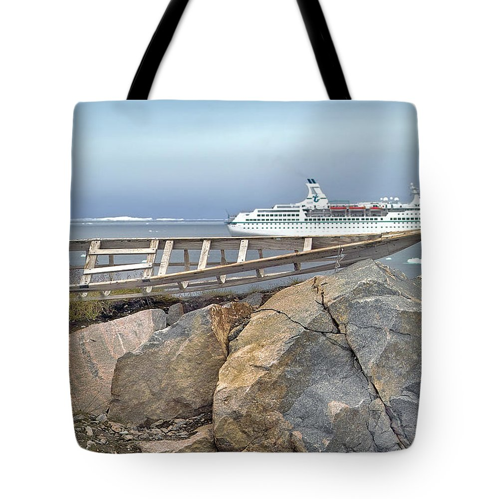 Kayak Tote Bag featuring the photograph Lost Traditions by Robert Lacy