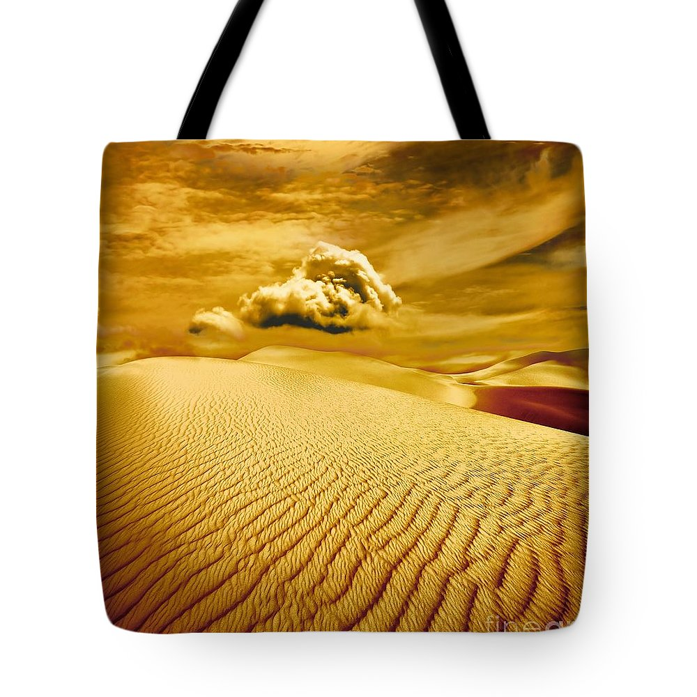 Desert Tote Bag featuring the photograph Lost Worlds by Jacky Gerritsen