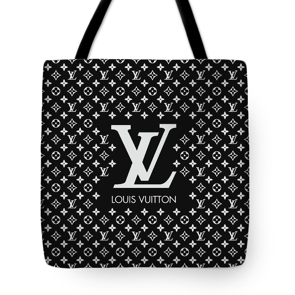 f9aa46e0ce3a Louis Vuitton Tote Bag featuring the digital art Louis Vuitton Pattern - Lv  Pattern 11 -