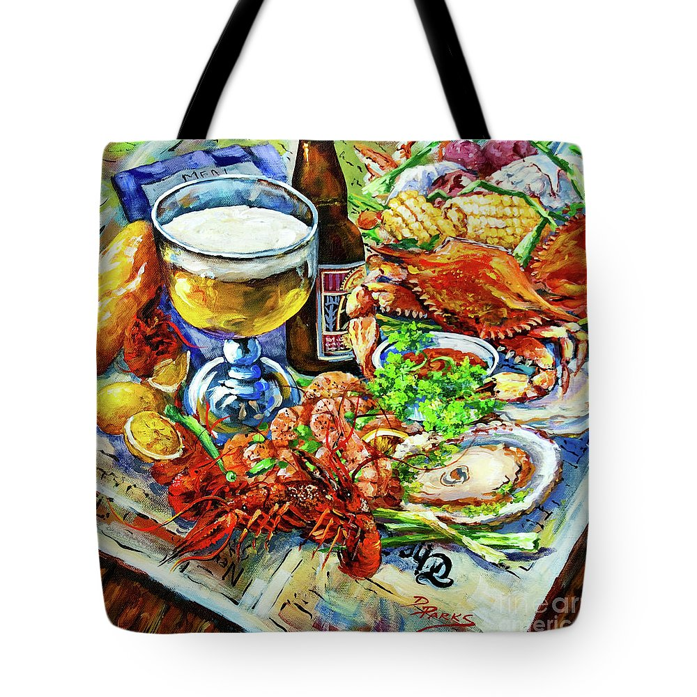 New Orleans Tote Bag featuring the painting Louisiana 4 Seasons by Dianne Parks