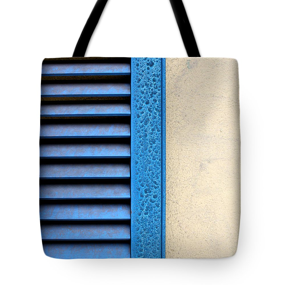 Abstract Tote Bag featuring the photograph Louvered by Todd Blanchard