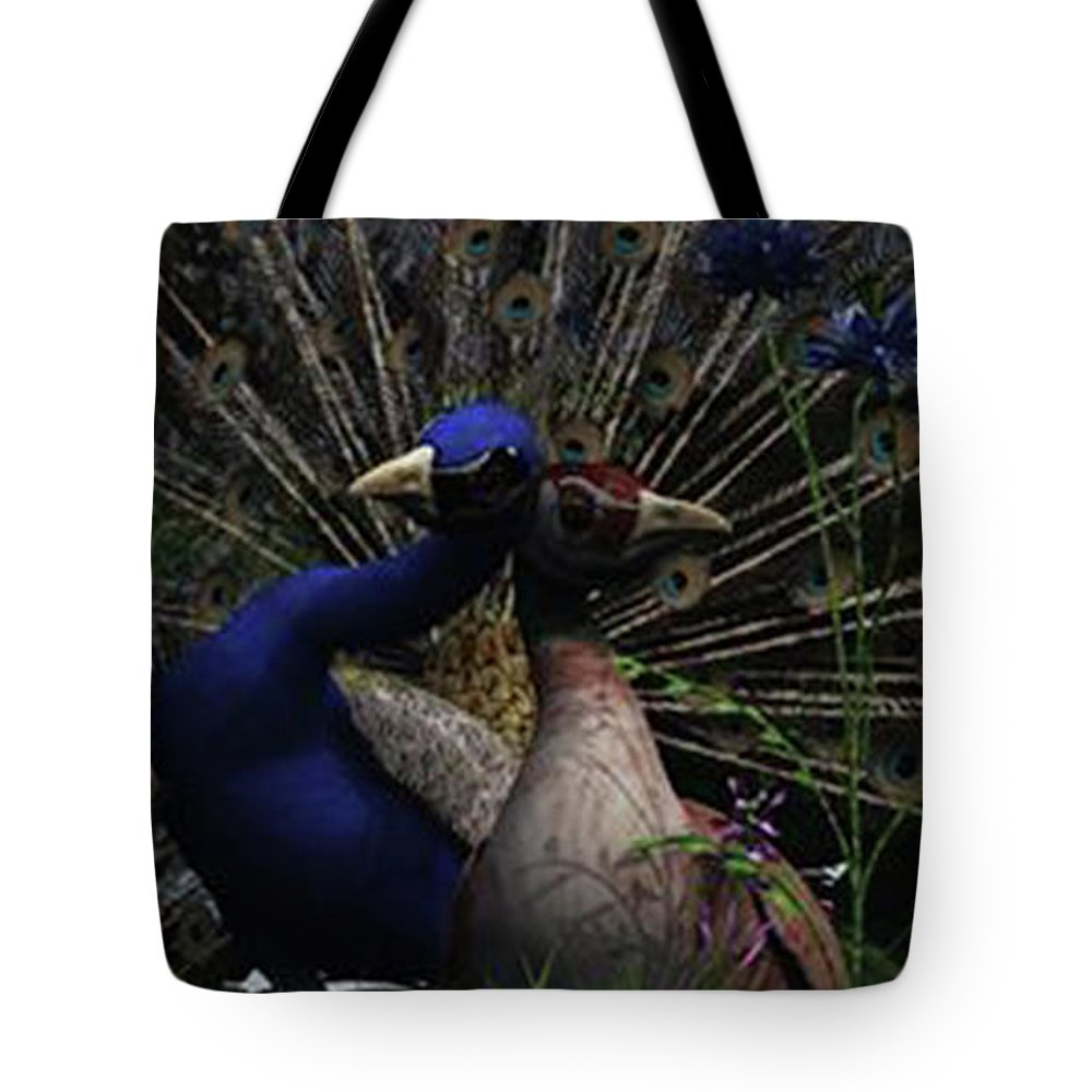 Landscape Tote Bag featuring the digital art Love by Andy Crawford