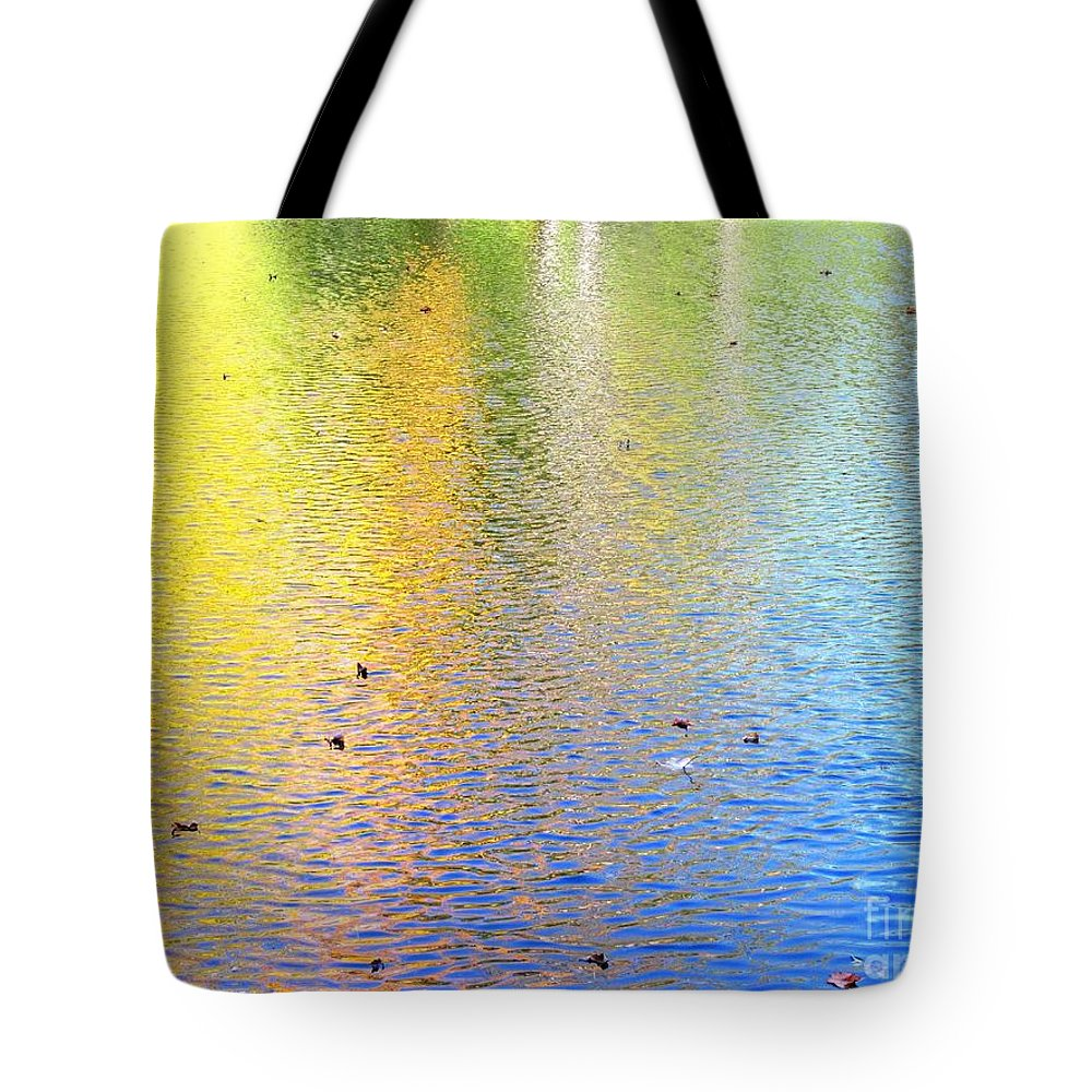 Water Tote Bag featuring the photograph Love Calls Unceasingly by Sybil Staples