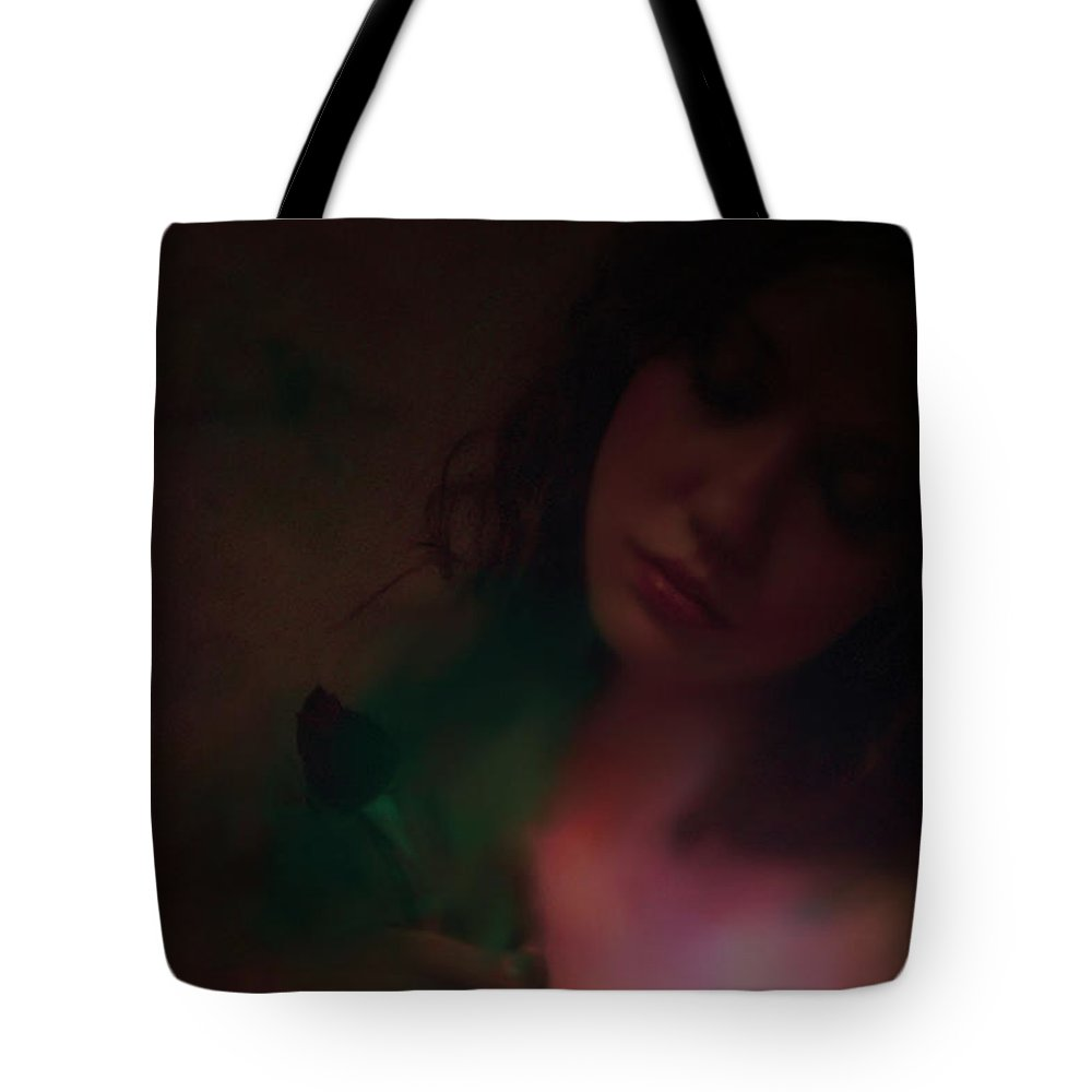 Headshot Tote Bag featuring the photograph Love Can Hurt by Jeff Burgess