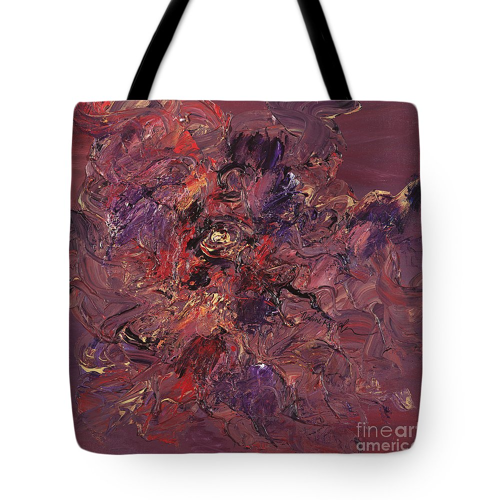 Love Tote Bag featuring the painting Love by Nadine Rippelmeyer