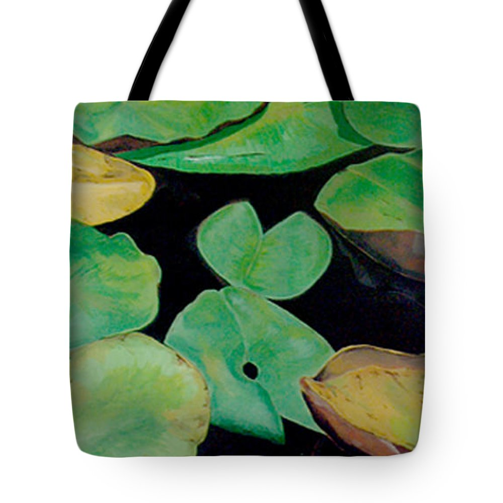 Love Tote Bag featuring the painting Love by Racquel Morgan