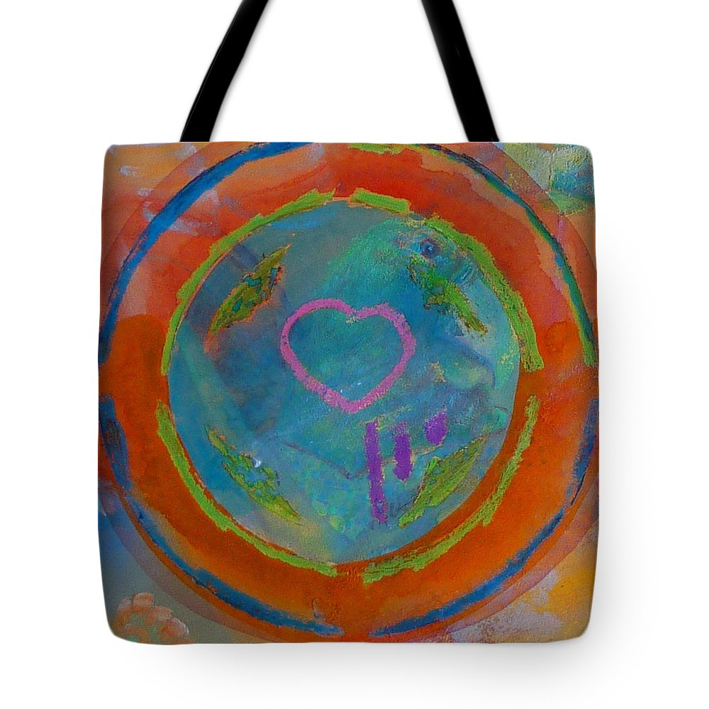 Logo Tote Bag featuring the painting Love The Sea by Charles Stuart