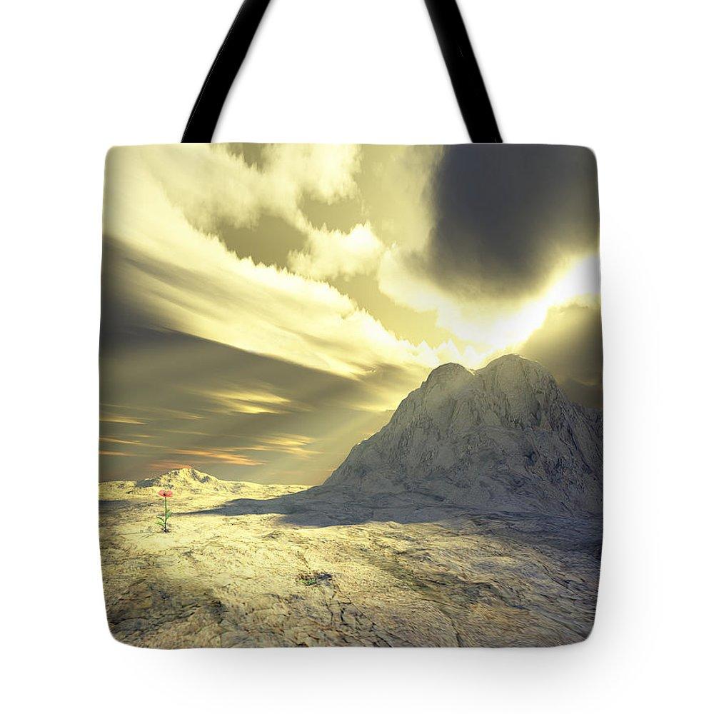 Loved Tote Bag featuring the digital art Loved - Never Forgotten by Jennifer Kathleen Phillips
