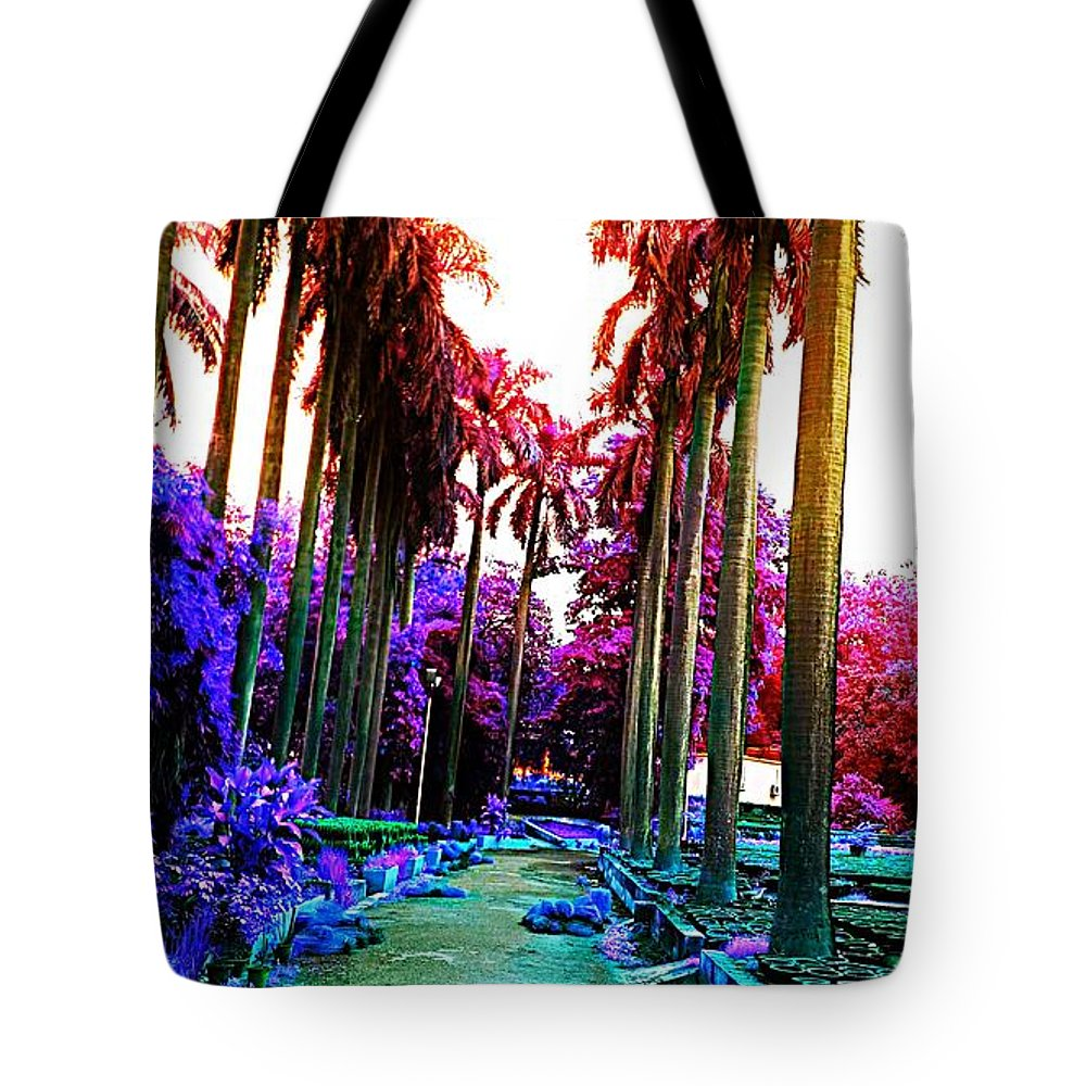 Lovely Tote Bag featuring the photograph Lovely Spot by Nilu Mishra
