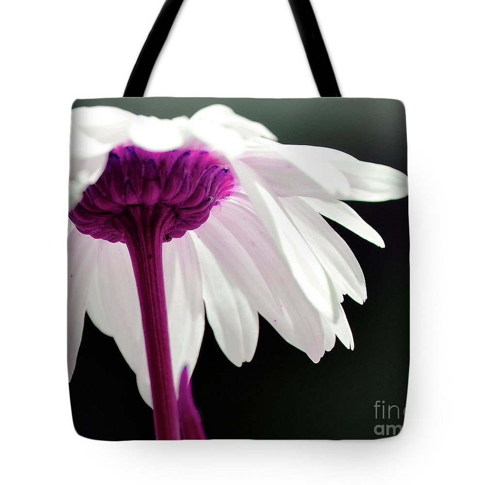 Daisy Tote Bag featuring the photograph Loves Me by Traci Cottingham