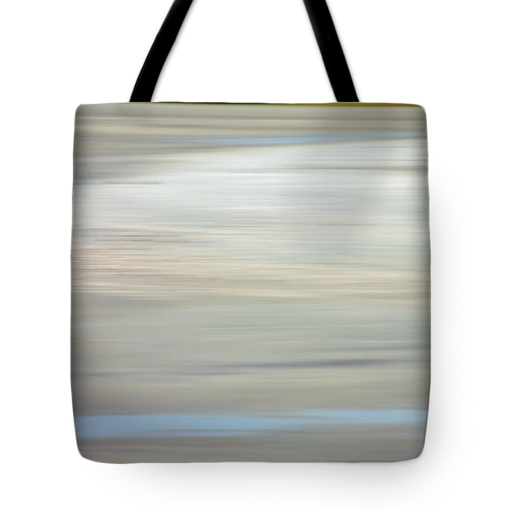 Coastal Tote Bag featuring the photograph Low Country Coastal Blur by Suzanne Gaff
