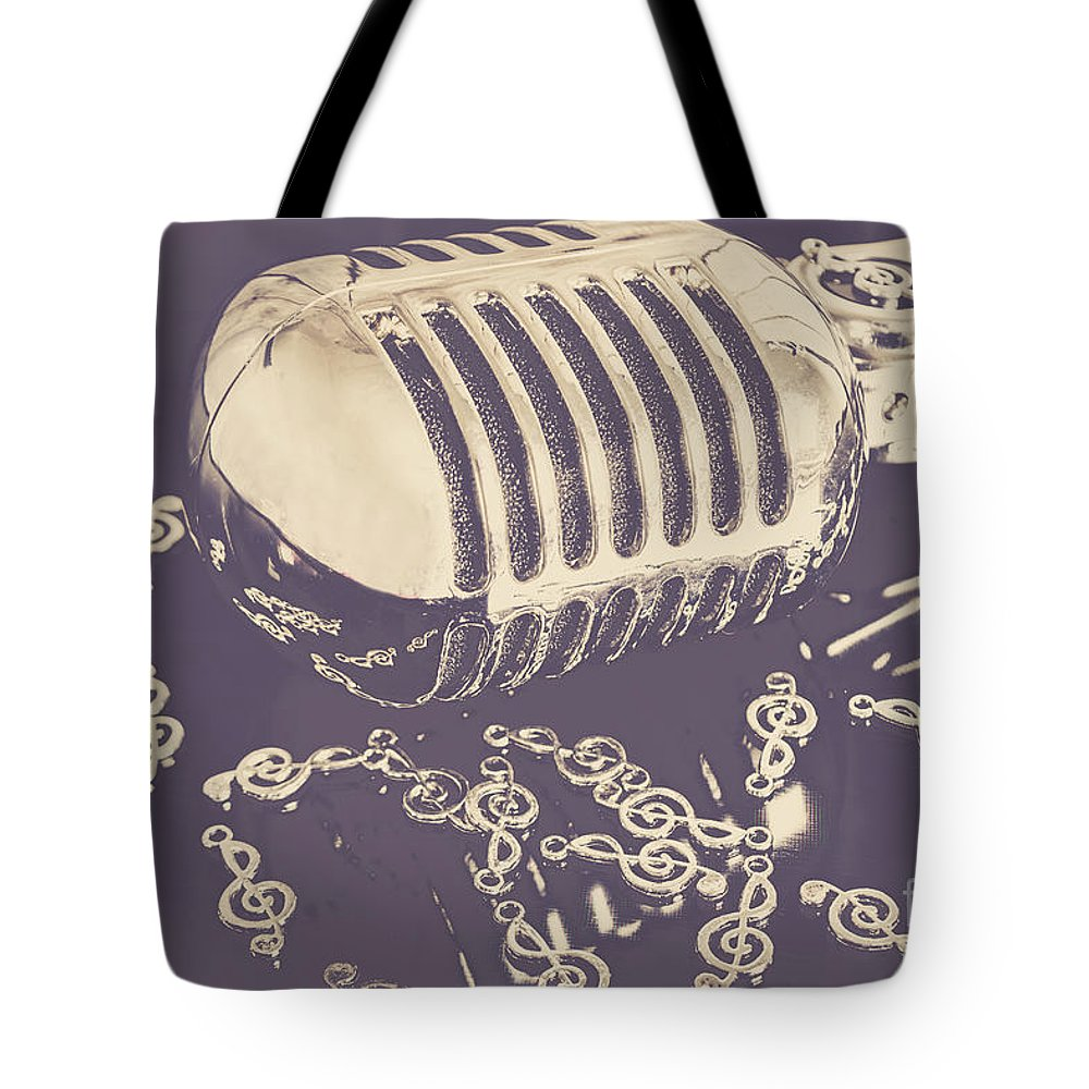 Musical Theme Tote Bags