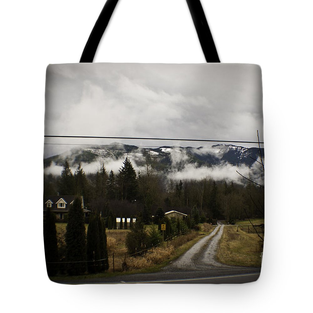 Art Tote Bag featuring the photograph Low Overhead by Clayton Bruster