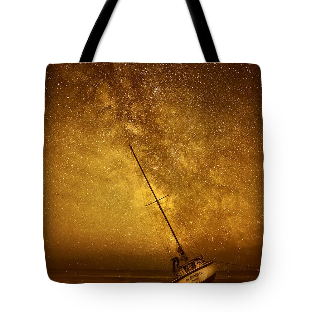#peaisland Tote Bag featuring the photograph Low Tide by Jay Wickens