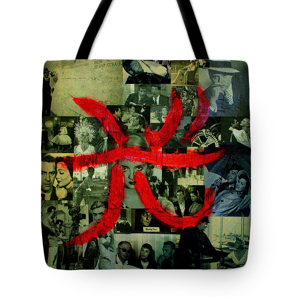 Shodo Tote Bag featuring the painting Luce by Federico Biancotti