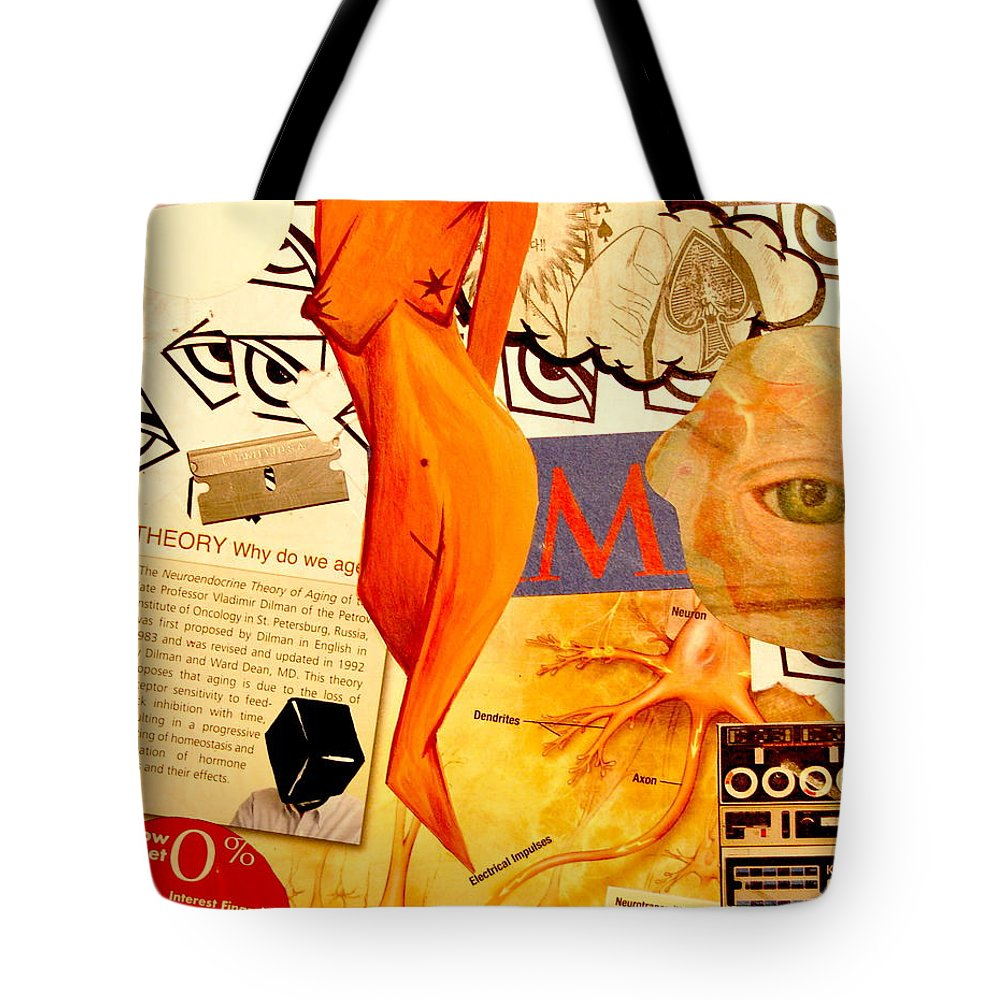 Luck Tote Bag featuring the mixed media Luck Of The Draw by A 2 H D