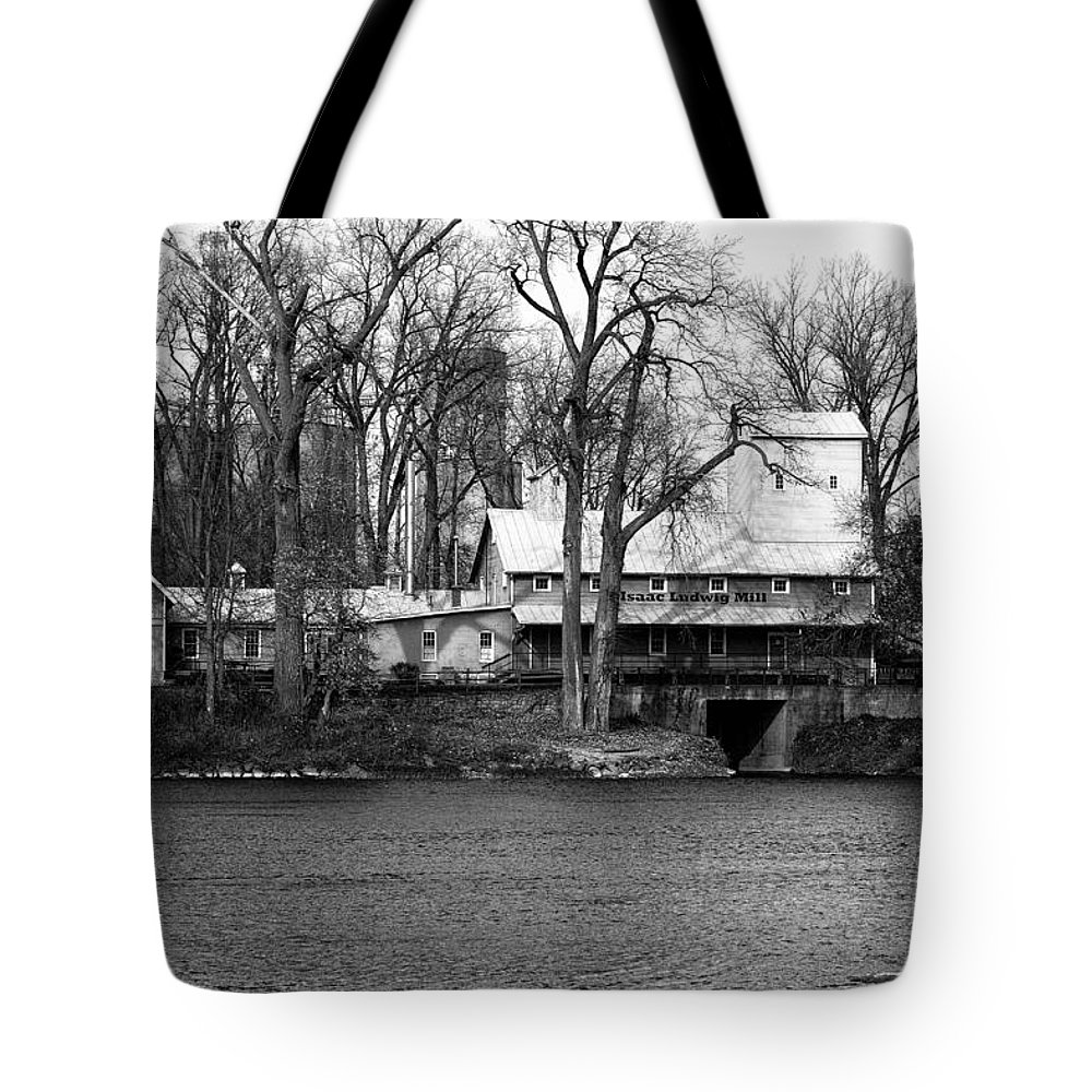 Ludwig Tote Bag featuring the photograph Ludwig Mill by Thomas Staff