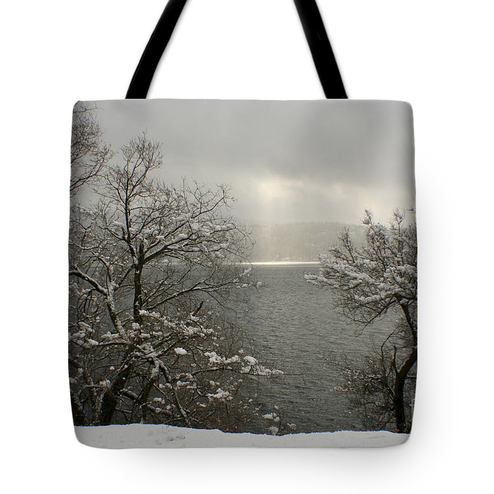 Lake Tote Bag featuring the photograph Luminescence by Idaho Scenic Images Linda Lantzy
