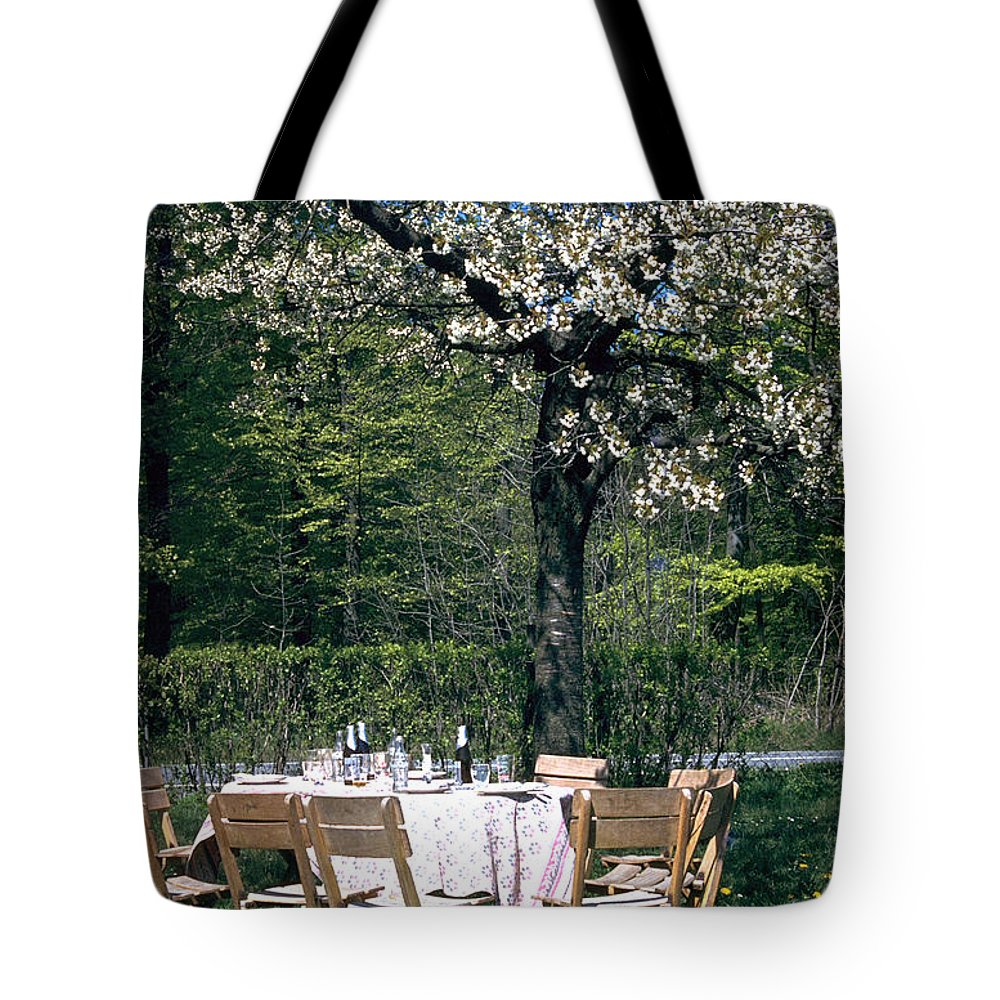 Lunch Tote Bag featuring the photograph Lunch by Flavia Westerwelle