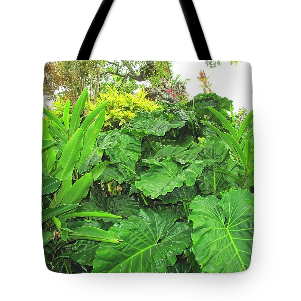 Vegetation Tote Bag featuring the photograph Lust Too by Ian MacDonald