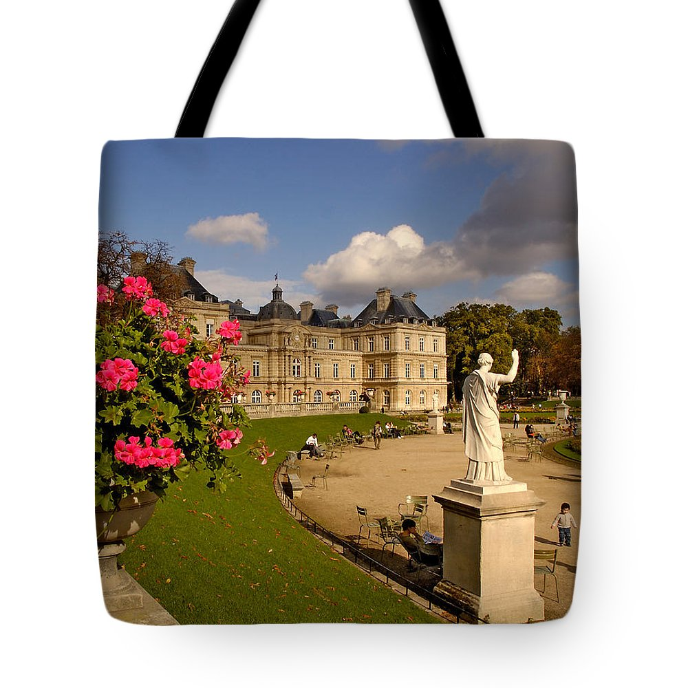 Luxembourg Palace Tote Bag featuring the photograph Luxembourg Palace by Mick Burkey