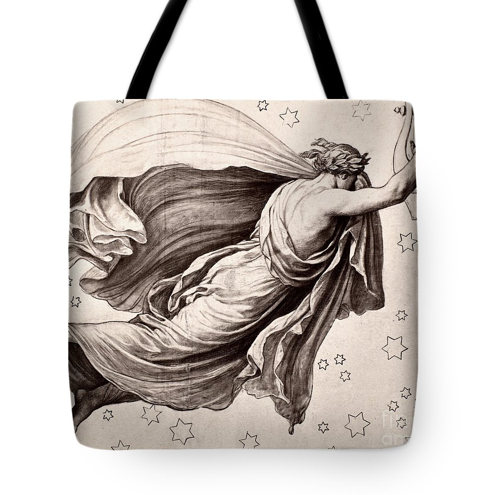 Ancient Tote Bag featuring the photograph Lyre Of Orpheus by Granger