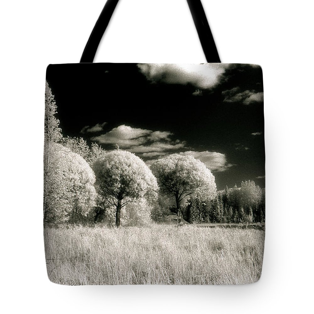 Landscape Tote Bag featuring the photograph Maarala #1 by Jarmo Honkanen