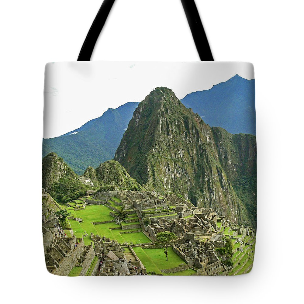 Peru Tote Bag featuring the photograph Machu Picchu - Iconic View by Allen Sheffield