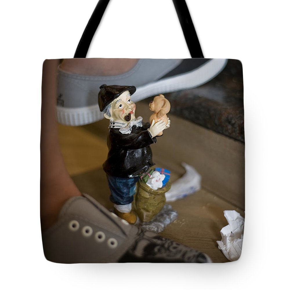Spain Tote Bag featuring the photograph Made In China Olentzero by Rafa Rivas