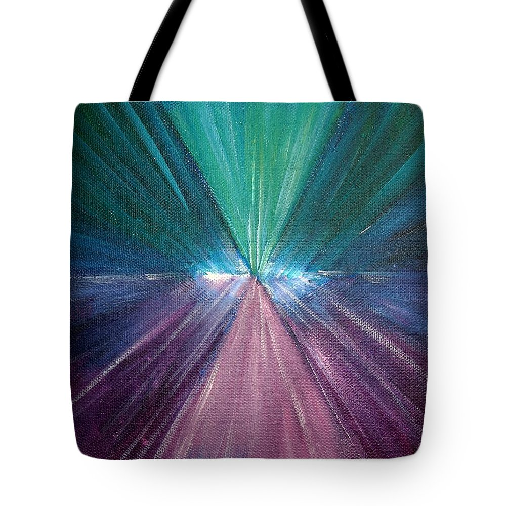 Spiritual Tote Bag featuring the painting Maeve Essence by Tara Moorman