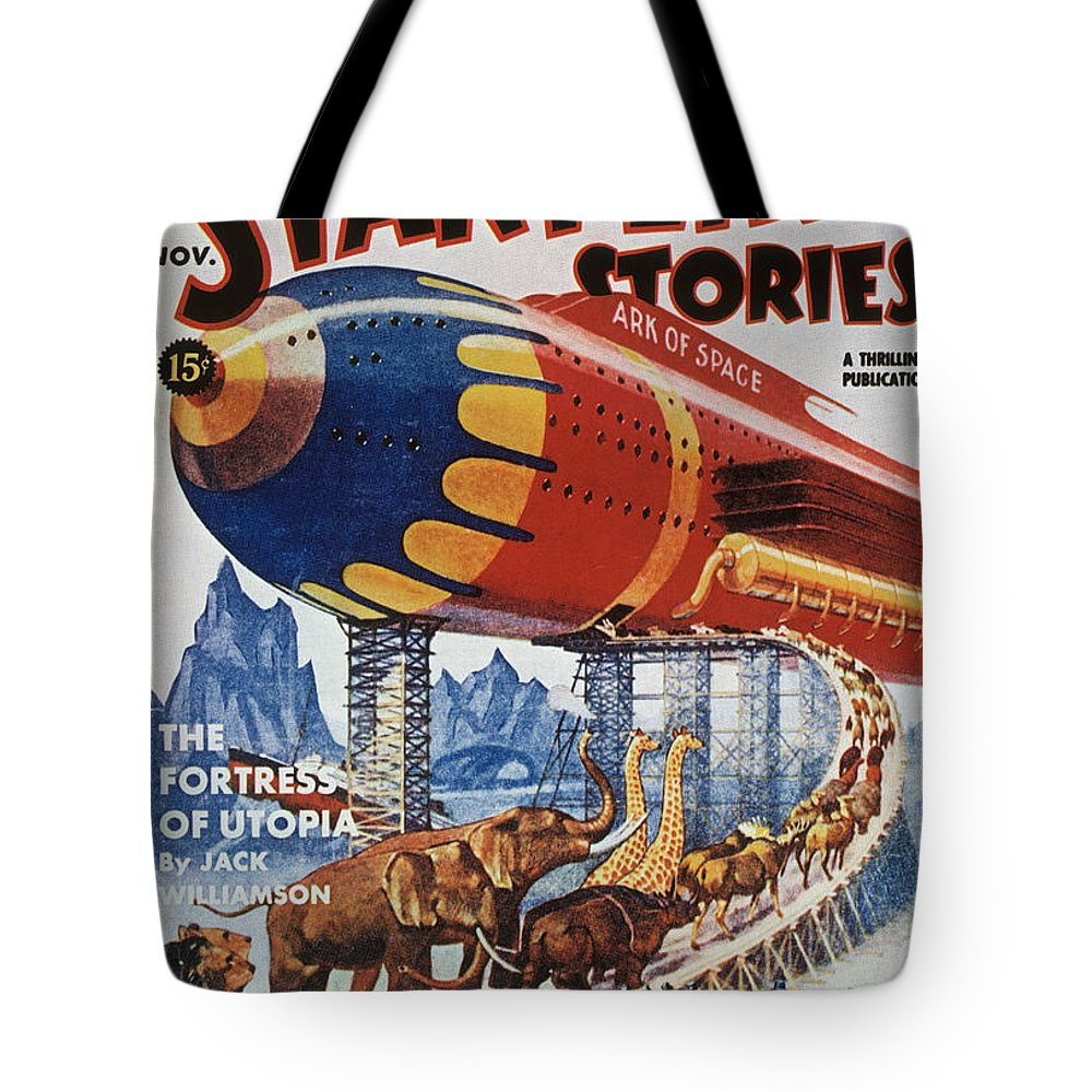 1939 Tote Bag featuring the photograph Magazine Cover, 1939 by Granger