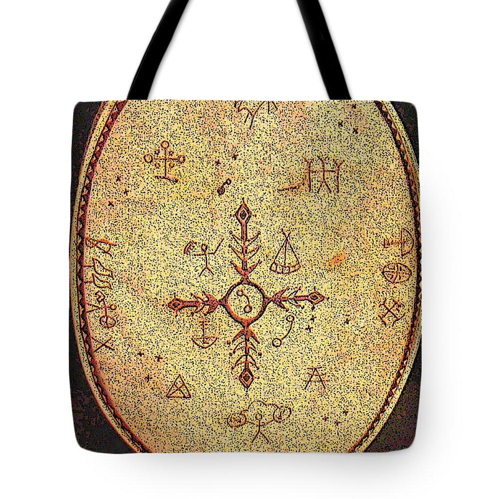 Magic Drum Tote Bag featuring the photograph Magic Drum by Merja Waters