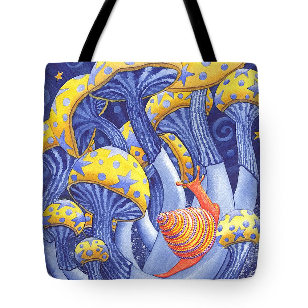 Mushroom Tote Bag featuring the painting Magic Mushrooms by Catherine G McElroy