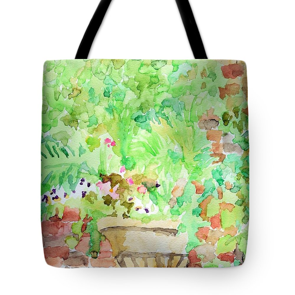 Water Color Tote Bag featuring the painting Magic Time At Craig Sole's by Rachel Rose
