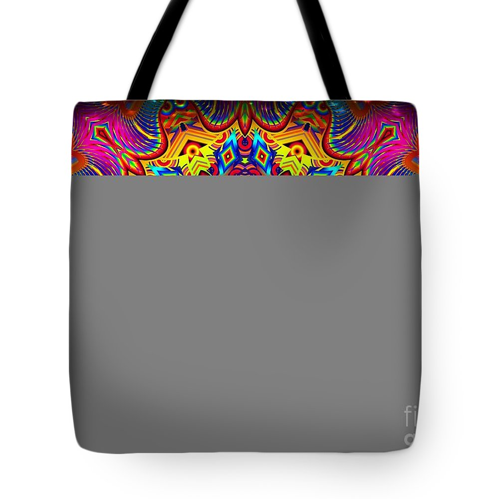 Bright Tote Bag featuring the digital art Magically Delicious by Robert Orinski
