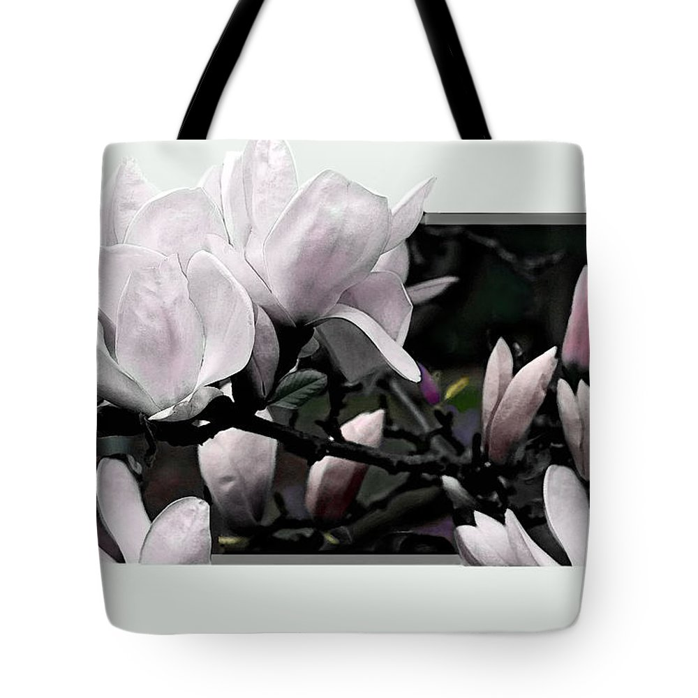 Flower Tote Bag featuring the photograph Magnolia Fantasy I by Madeline Ellis