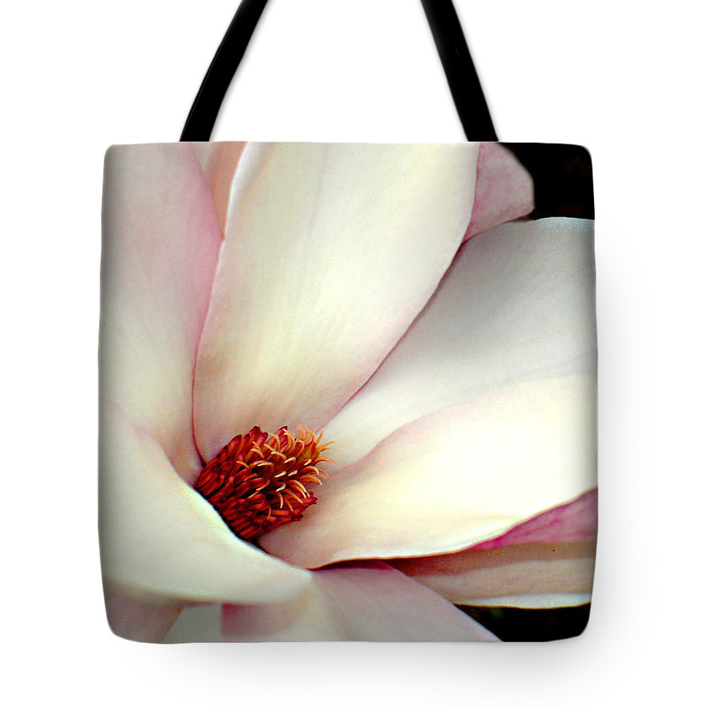 Floral Tote Bag featuring the photograph Magnolia by Steve Karol