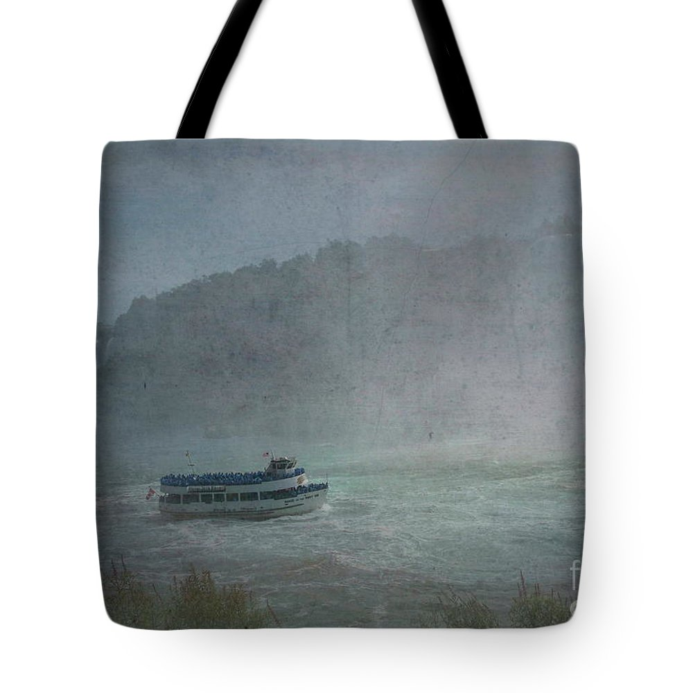 Maid Of The Mist Tote Bag featuring the photograph Maid Of The Mist by Luther Fine Art