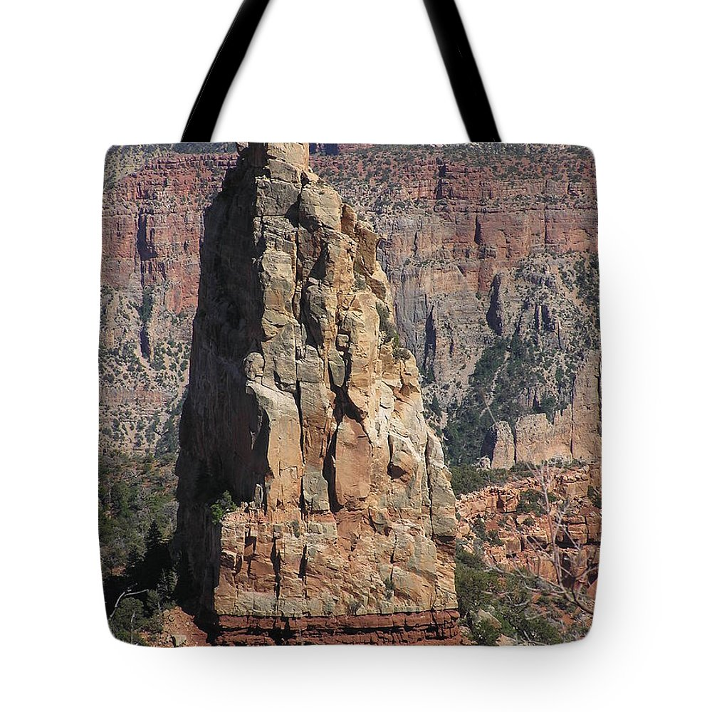 Rock Tote Bag featuring the photograph Majestic by Louise Magno