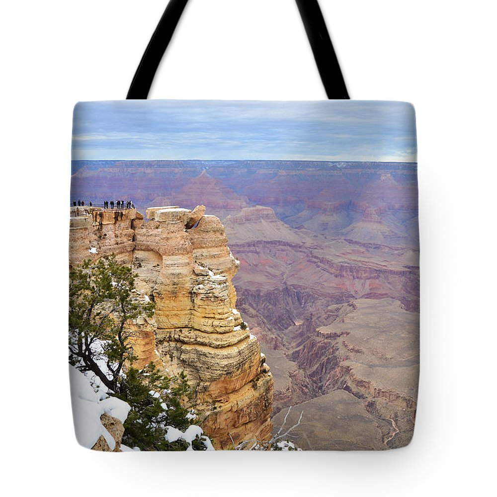View Tote Bag featuring the photograph Majestic View by Mauverneen Blevins