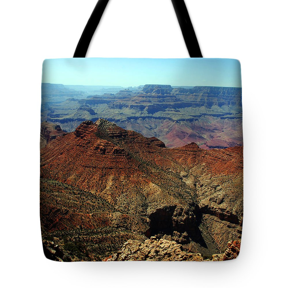 Grand Canyon Tote Bag featuring the photograph Majestic View by Susanne Van Hulst