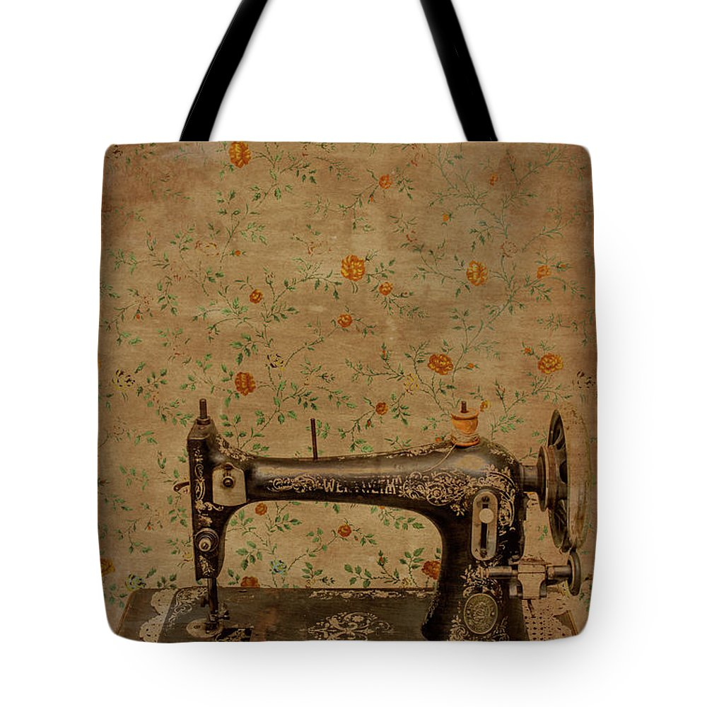Sewing Tote Bag featuring the photograph Make It Sew by Jorgo Photography - Wall Art Gallery