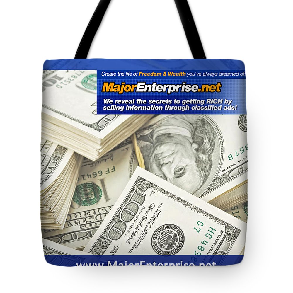 Make Money Online Fast Tote Bag For Sale By Carael Knight
