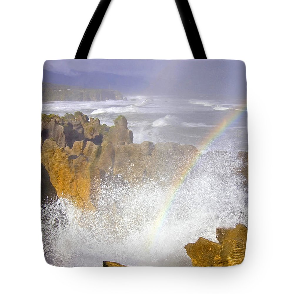 Paparoa Tote Bag featuring the photograph Making Miracles by Mike Dawson