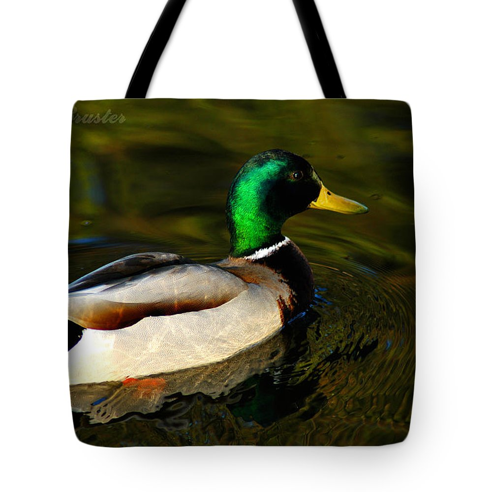 Clay Tote Bag featuring the photograph Mallard Green by Clayton Bruster